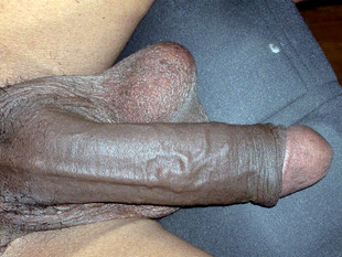Collection of fat erect black cocks,..