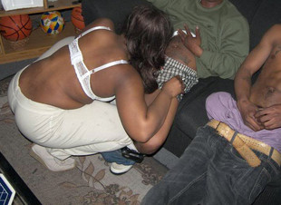 Real amateur black porn photos from..
