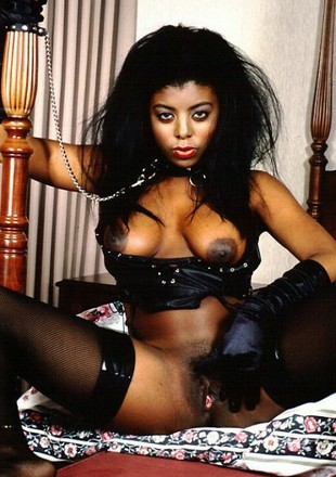 Elegant black porn model from..